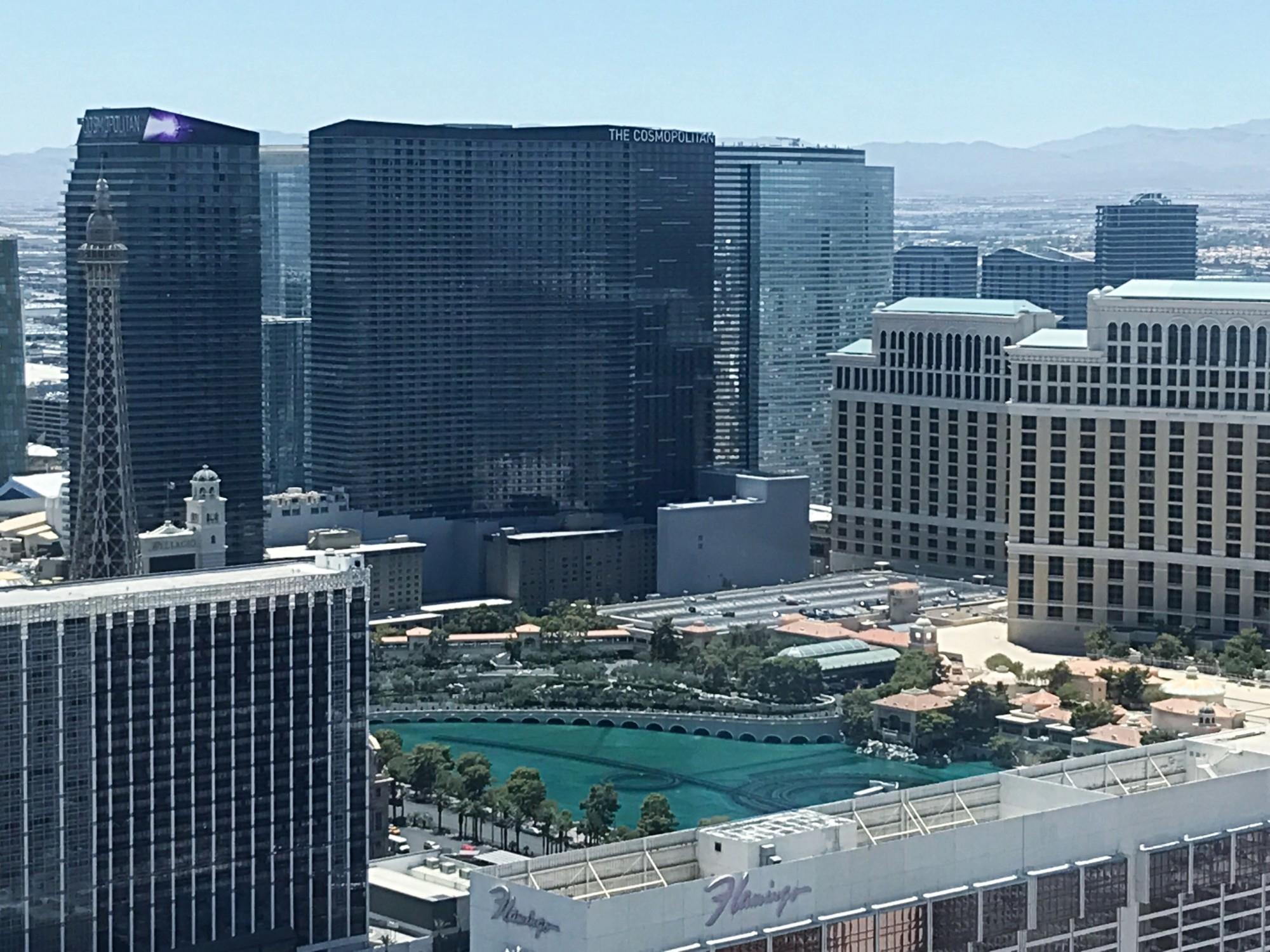 High Roller Observation Wheel in Las Vegas