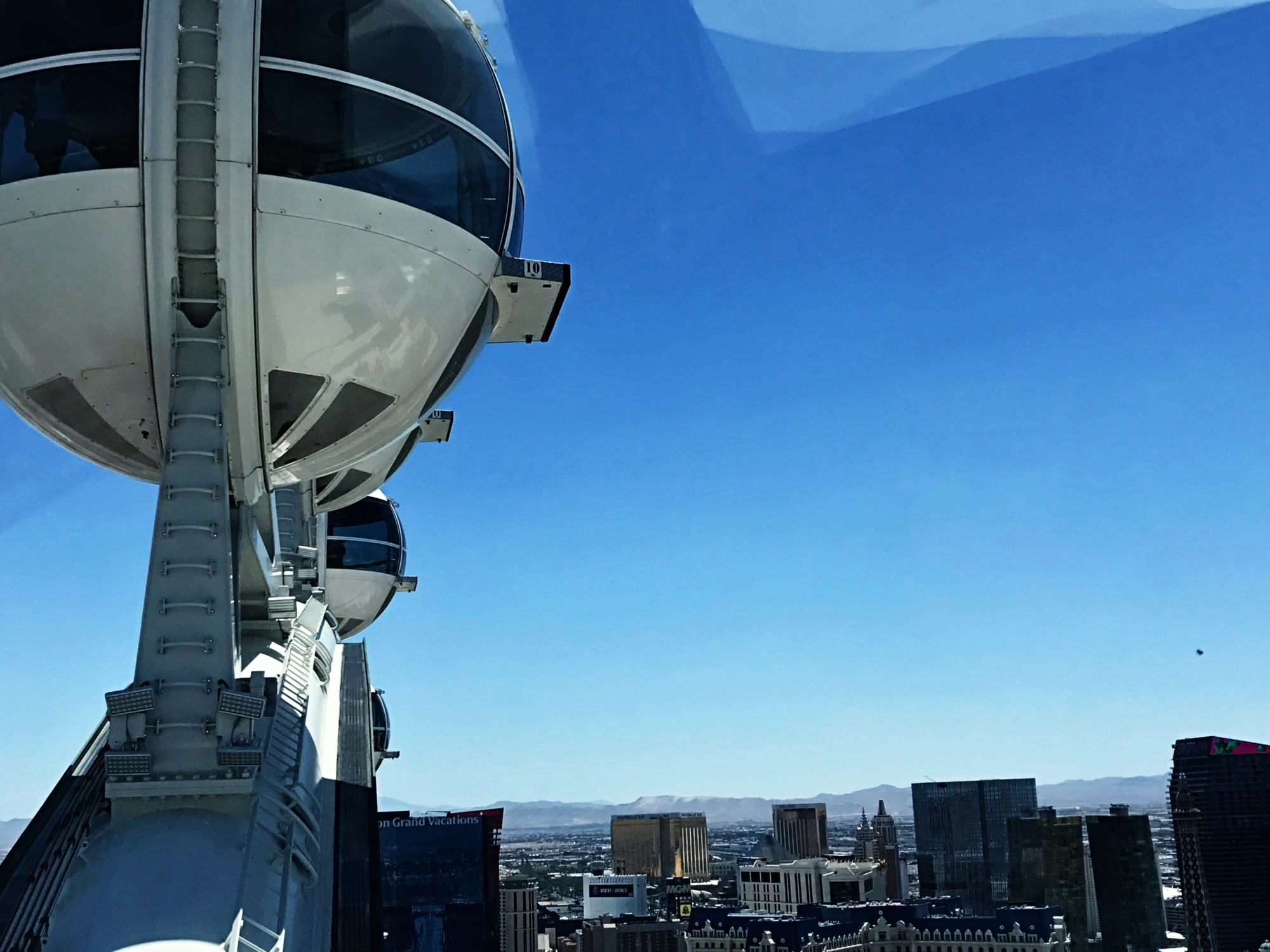 High Roller Observation Wheel in Las Vegas