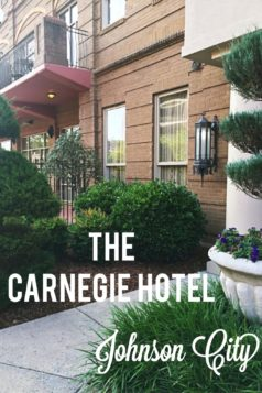 Carnegie Hotel in Johnson City