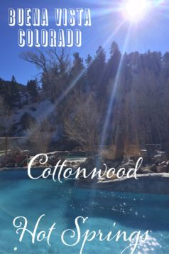 Copper Mountain and Cottonwood Hot Springs