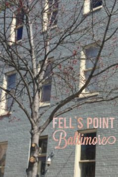 Fell's Point Baltimore