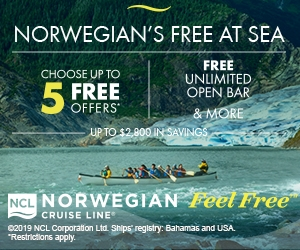 Norwegian's Free at Sea - Fabulous Indeed Vacations
