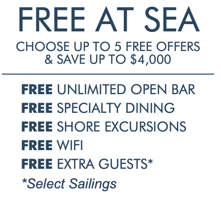 Fabulous Indeed Vacations Norwegian FREE AT SEA offer
